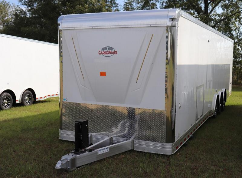 2020 Cargo Mate ALUMINUM Eliminator 34' Race Trailer Bath Pkg