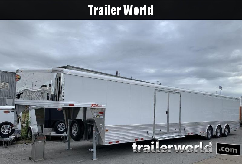 2020 Sundowner 48' Aluminum 2 Car Enclosed Gooseneck Car Trailer