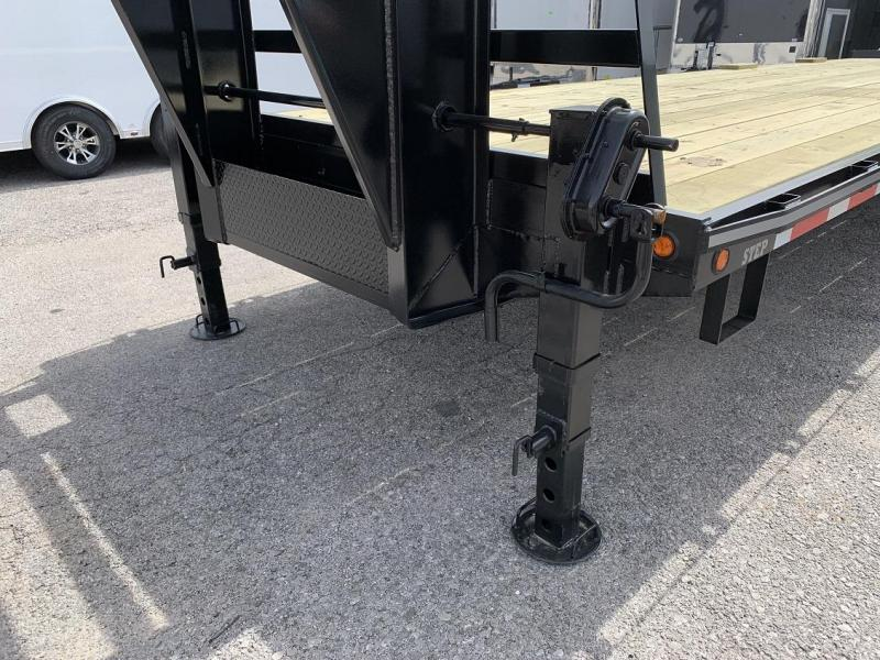2019 Better Built 30' + 5'  10 Ton Gooseneck Flatbed Trailer