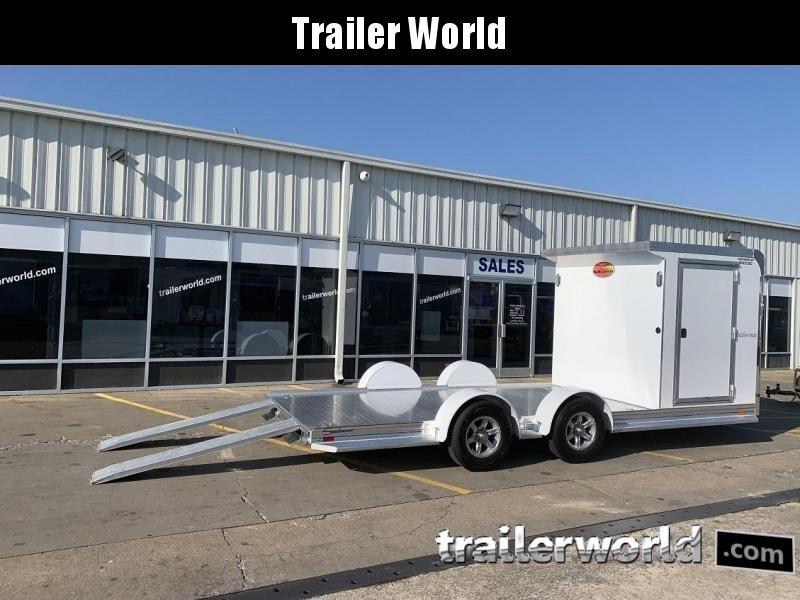 2020 Sundowner Outdoorsman 20' Aluminum Enclosed / Open Trailer