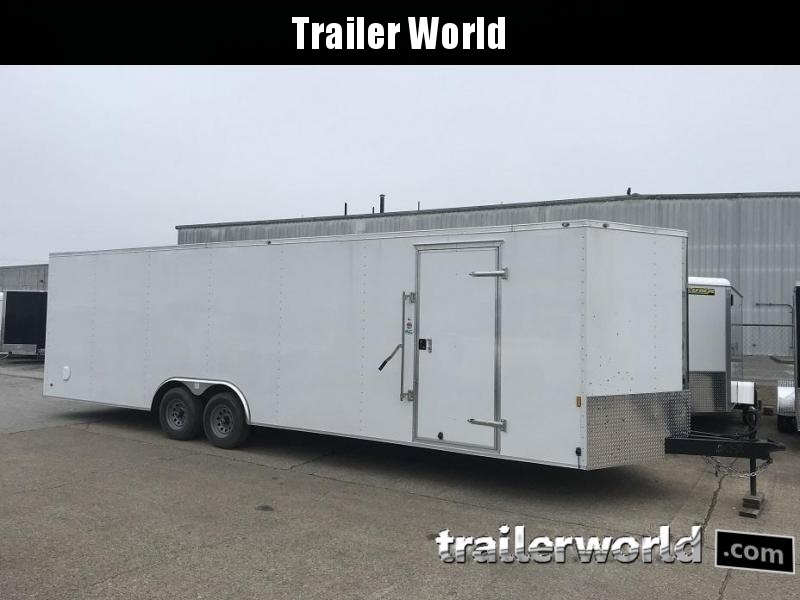 2020 Continental Cargo 26' V  Enclosed Car Trailer
