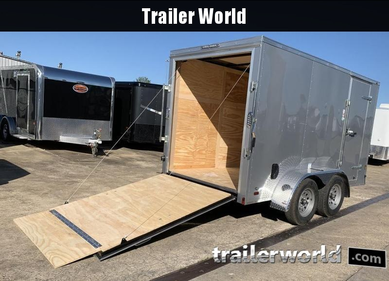 2020 Continental Cargo 6' x 12' Tandem Ramp Door Enclosed Cargo Trailer