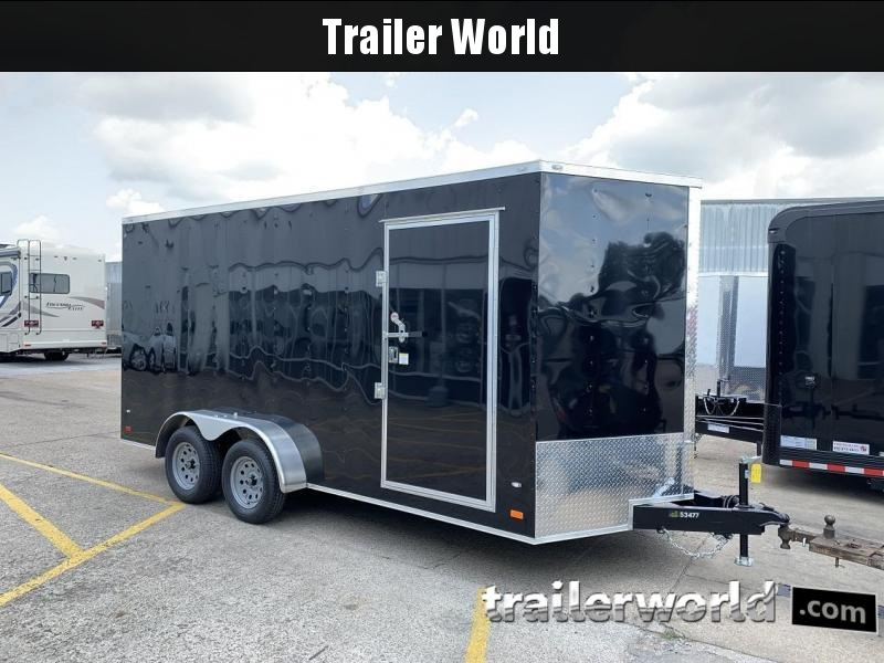 2020 CW 7' x 16' x 7' Vnose Enclosed Cargo Trailer