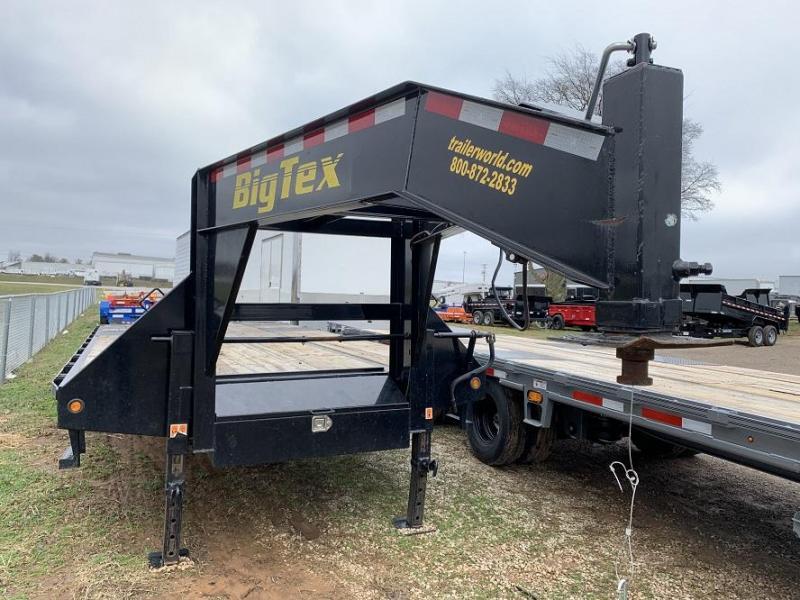 2014 Big Tex Trailers 22GN-20' + 5' Equipment Trailer MEGA Ramps
