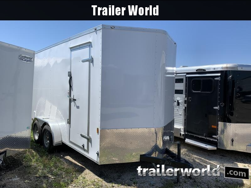 "2020 Continental Cargo 7' x 14' x 7'4"" Vnose Enclosed Cargo Trailer"