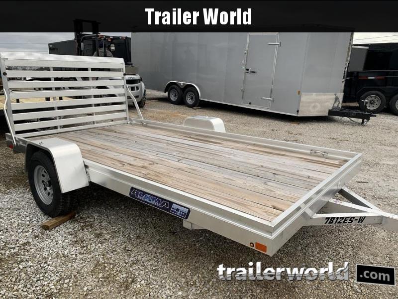 2020 Aluma 7812ESW Utility Trailer