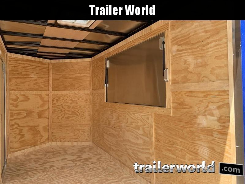 2019 CW 6' x 12' x 7' Vendor Vending / Concession Trailer