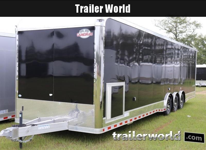 2020 Cargo Mate Eliminator 34' Aluminum Race Trailer