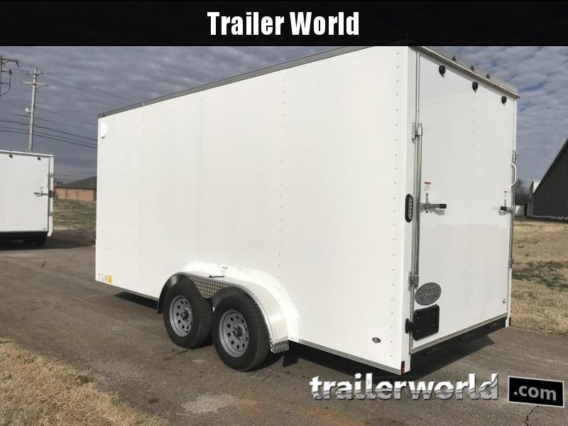 "2020 Continental Cargo 7' x 16' x 7'4"" Vnose Enclosed Cargo Trailer"