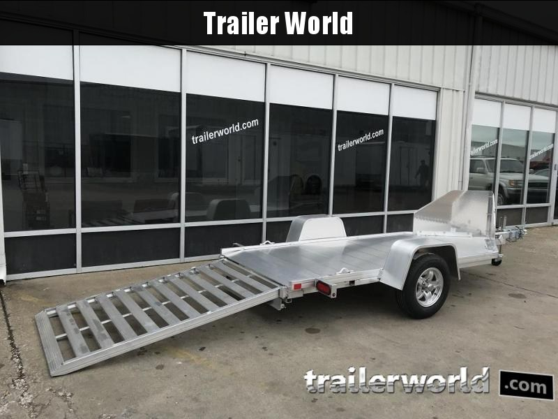 2020 Aluma MC10 Aluminum 1 Place Motorcycle Trailer