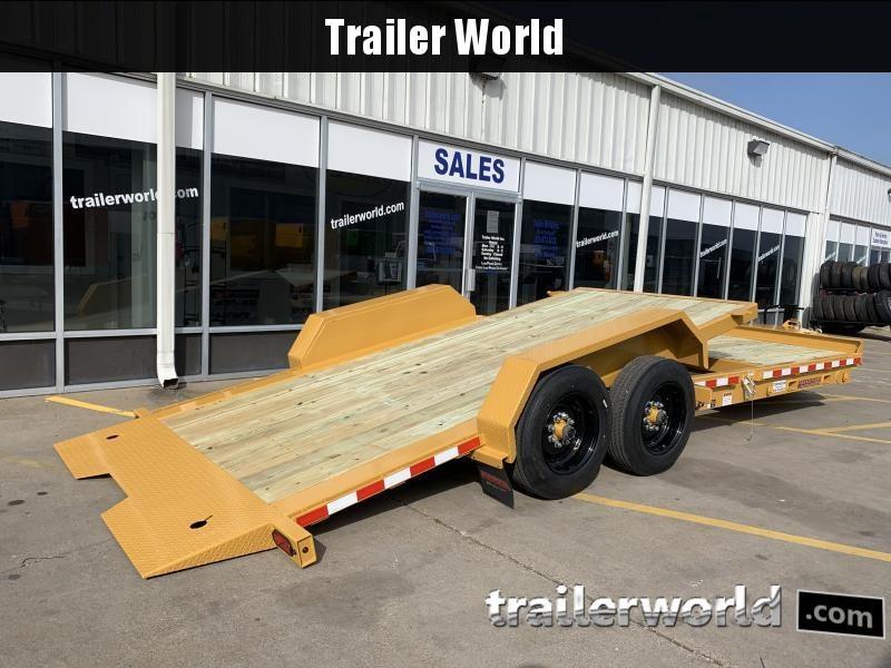 2020 Midsota TB-22' Split Deck Tilt Equipment Trailer