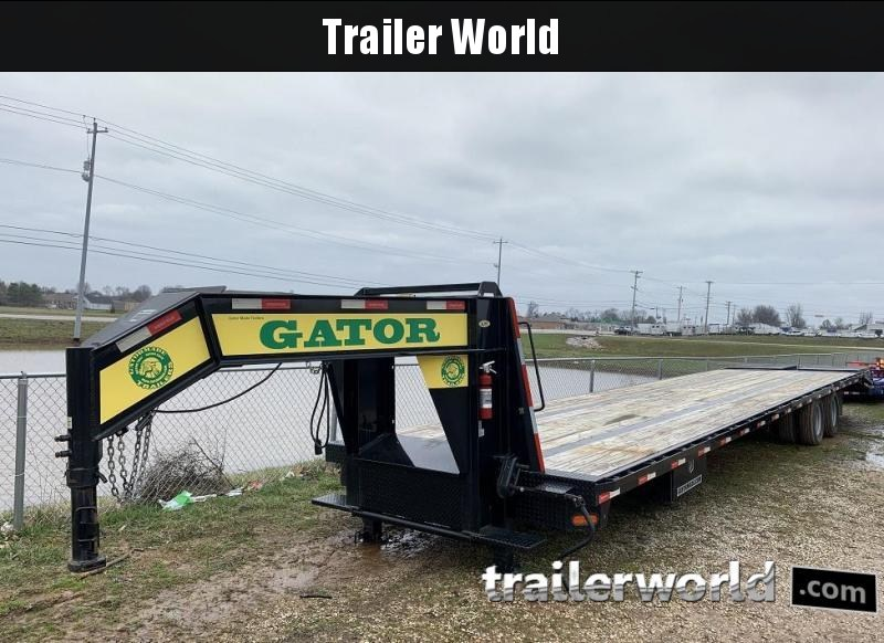 2017 Gatormade Trailers 35+5 Gooseneck Equipment Trailer