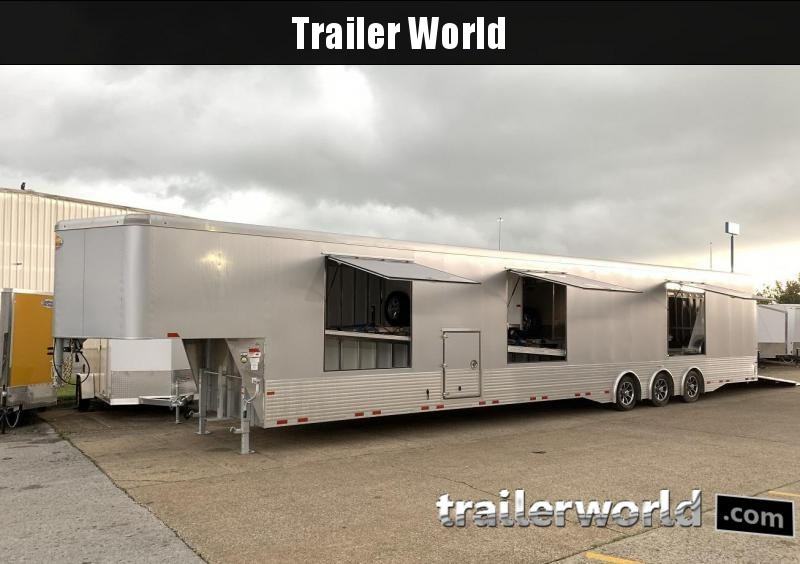 2020 Sundowner 52' Aluminum Enclosed 3 Car Trailer
