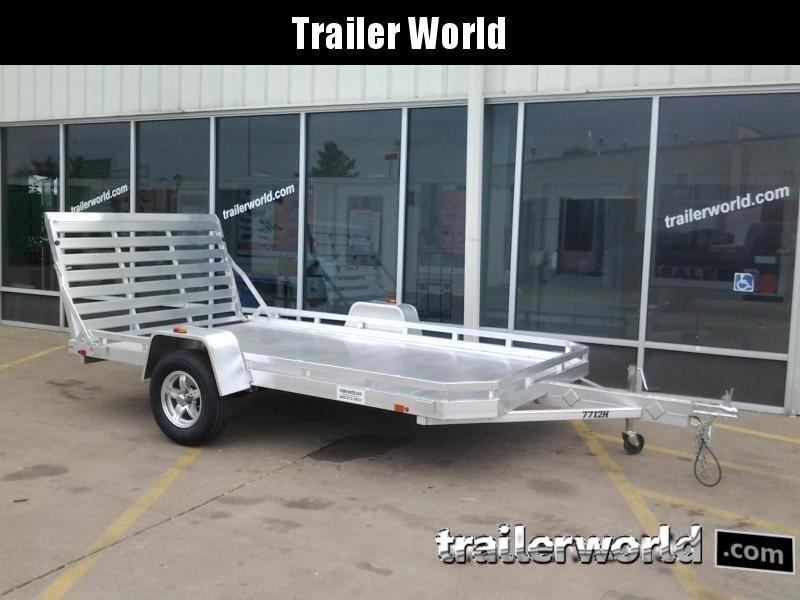 2020 Aluma 7712H 12' Aluminum Utility Trailer