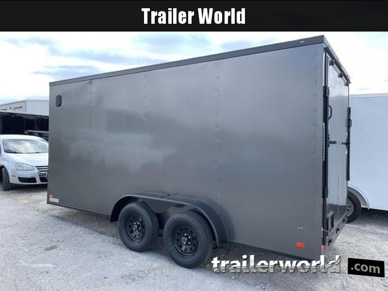 2020 CW 7' x 16' x 7' Vnose Enclosed Cargo Trailer BLACK OUT