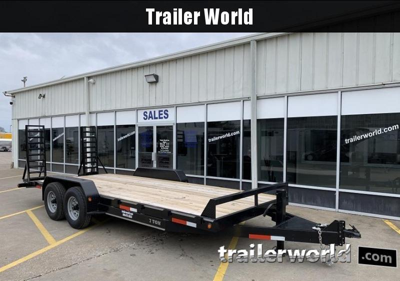 2020 Better Built 20' Equipment Trailer 14k GVWR