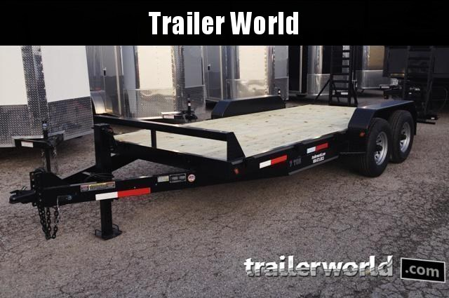 2020 Better Built 20' Equipment Trailer 14k GVWR