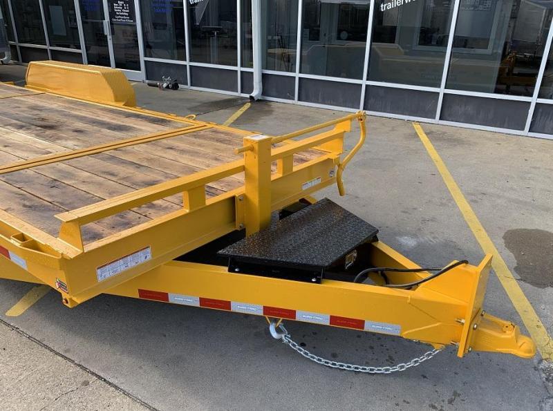 2020 Sure-Trac 16' + 4' Tilt Bed Equipment Trailer 16K