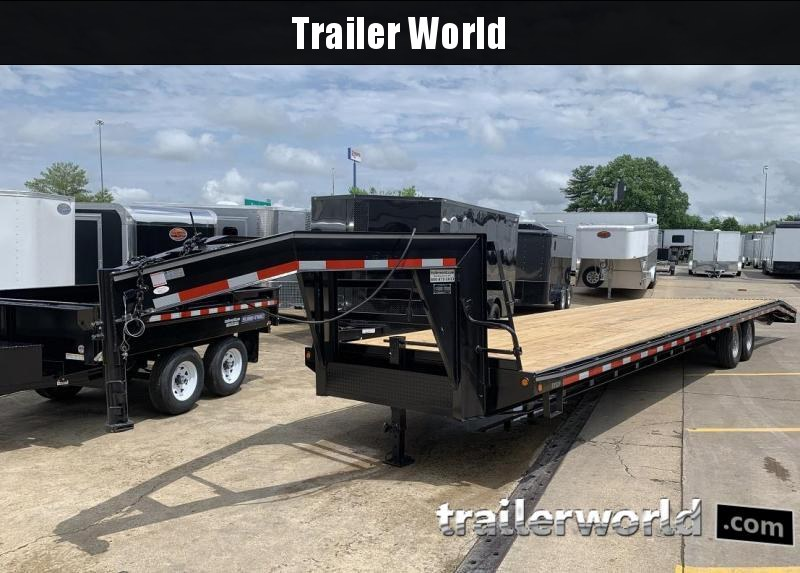 2019 Better Built 36'   7 Ton Gooseneck Flatbed Trailer