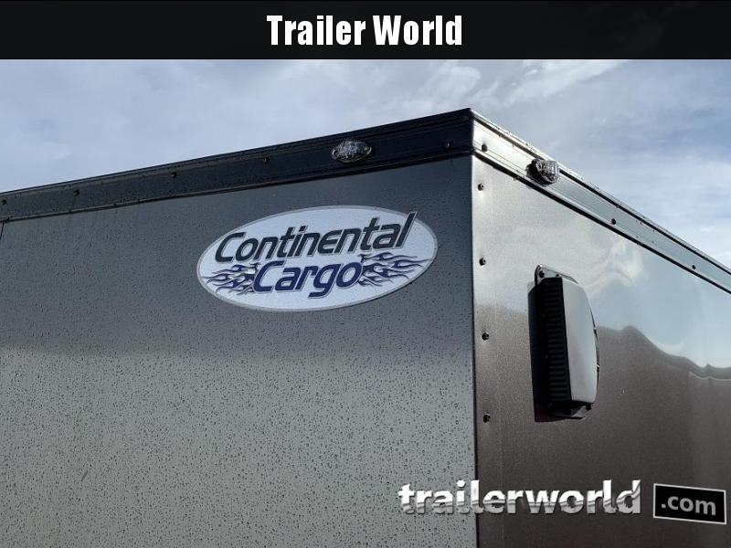 2020 Continental Cargo 7' x 14' x 6.3' Vnose Enclosed Cargo Trailer Black-Out Trim
