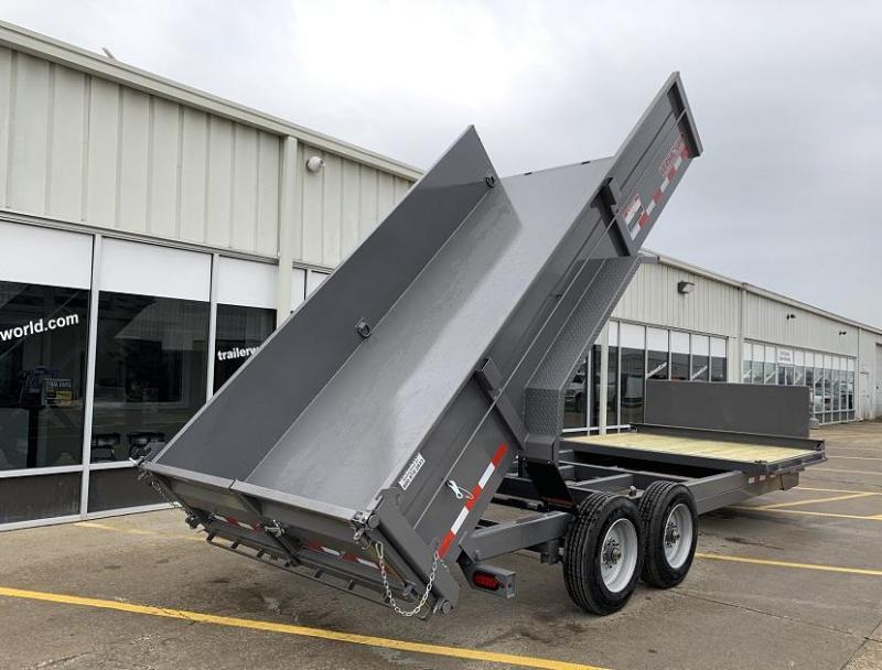 2020 Midsota FFRD 20'  6' + 14' Dump Trailer 17.6k GVWR