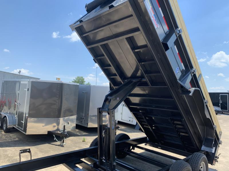 2020 Diamond C LPD 16' Low Profile Dump Trailer