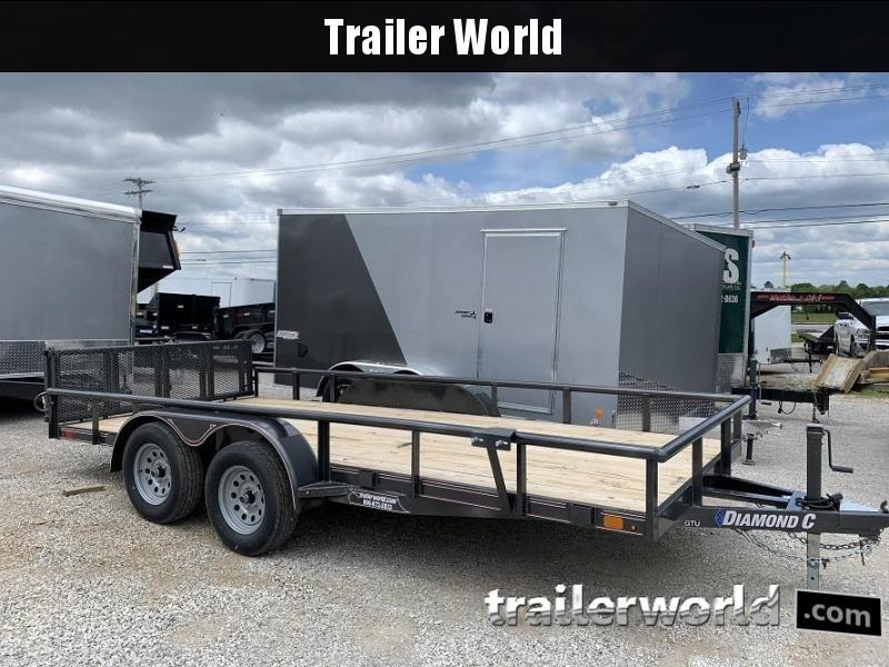 2020 Diamond C Trailers GTU 16' Utility Trailer