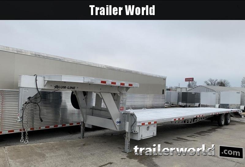 2015 Alum-Line Trailers 40 Aluminum Flatbed Equipment Trailer