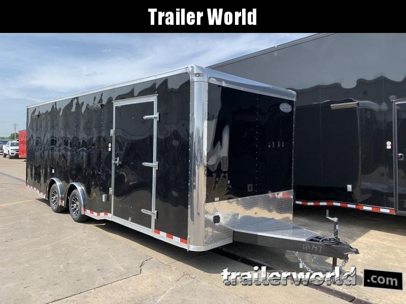 2020 Continental Trailers 24' Race Trailer Spread Axles