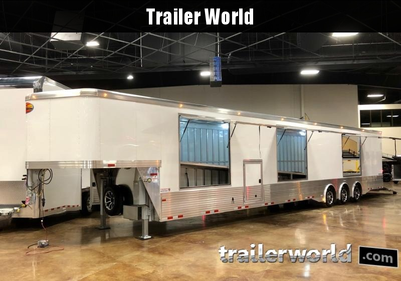 2020 Sundowner 52' Aluminum Enclosed 3 Car Enclosed  Trailer
