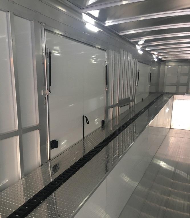 2020 Sundowner 52' Aluminum Enclosed 3 Car Enclosed  Trailer