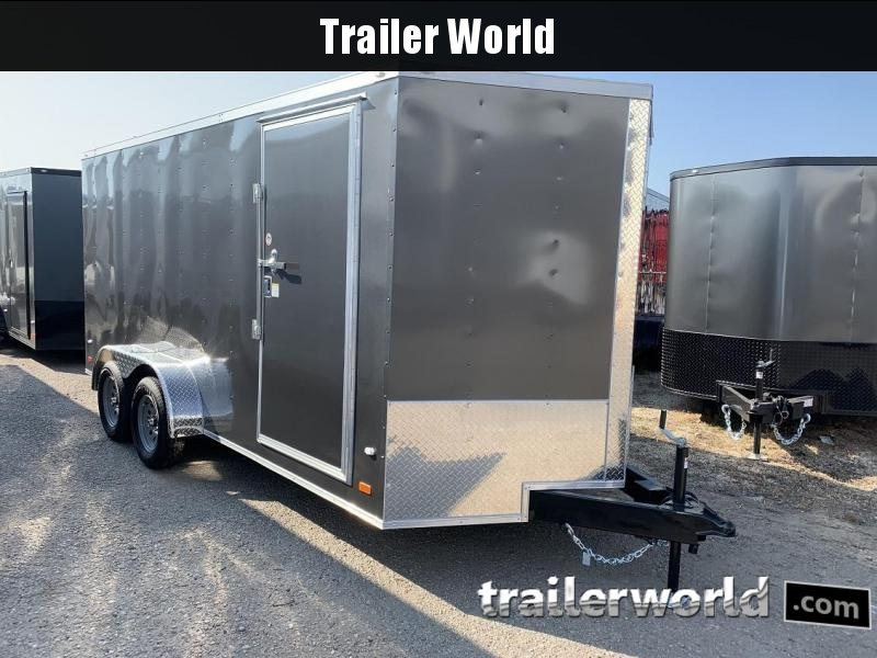2020 CW 7' x 16' x 6.5' Vnose Enclosed Cargo Trailer