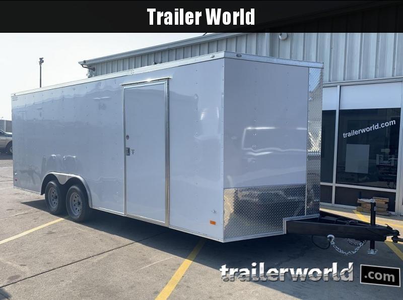 2020 CW 20' Enclosed Car Trailer 7k GVWR