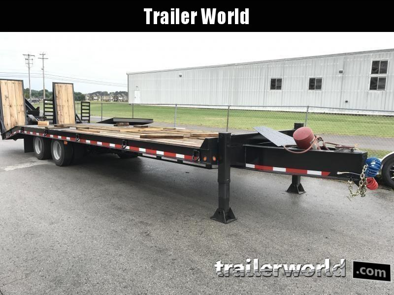 2019 Better Built 25 Ton  Air Brake Pintle Hitch 30' Equipment Trailer