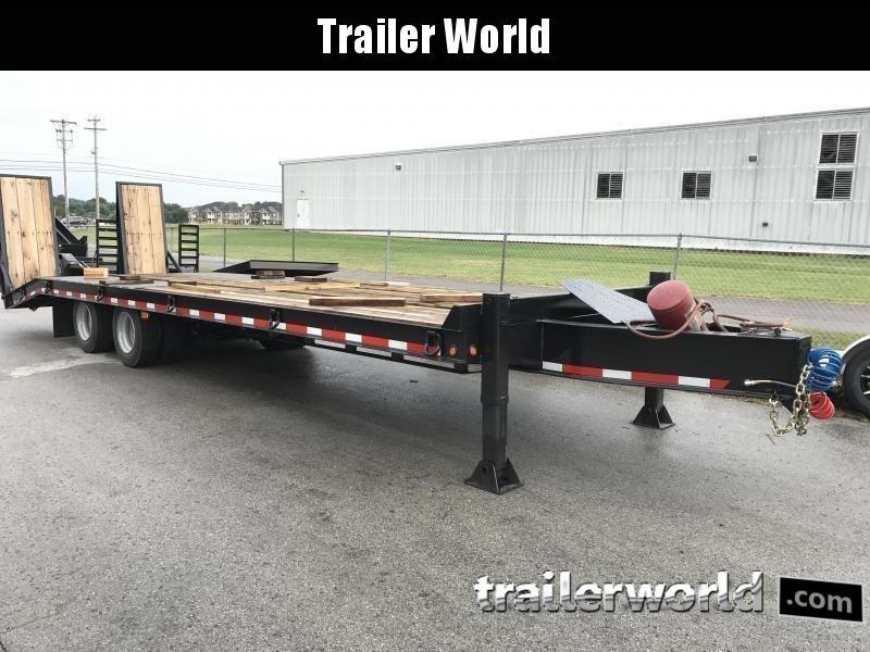 2019 Better Built 25 Ton  Air Brake Pintle Hitch 30' Equipment Trailer