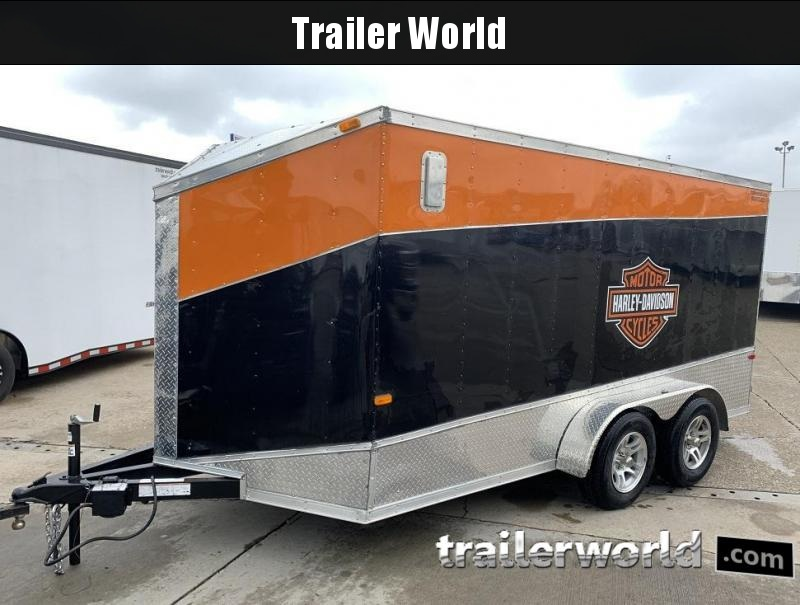 2017 Cargo Craft 7x14 Enclosed Cargo Trailer