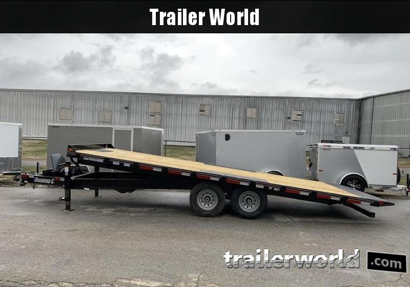 2020 Diamond C Trailers DET 22' x 102 Power Tilt Equipment Trailer