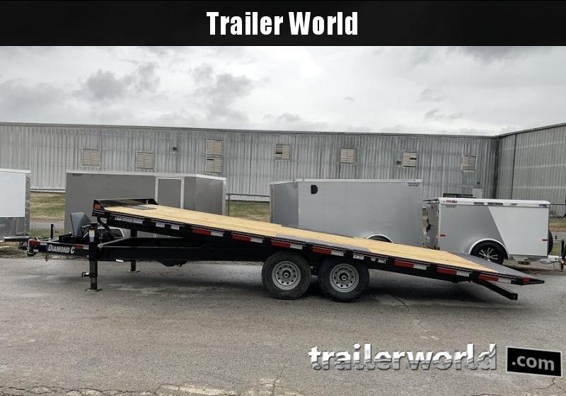 2020 Diamond C Trailers DET 22' x 102 Power Tilt Equipment Trailer