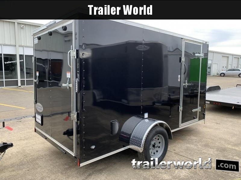 2020 Continental Cargo 6' x 12' x 6.3' Trailer w Ramp Door