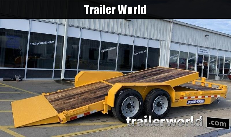 2020 Sure-Trac 16 + 4 Tilt Bed Equipment Trailer 16K GVWR