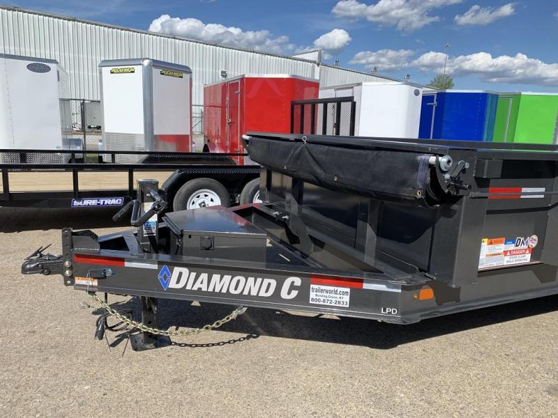 2019 Diamond C LPD 14' Dump Trailer