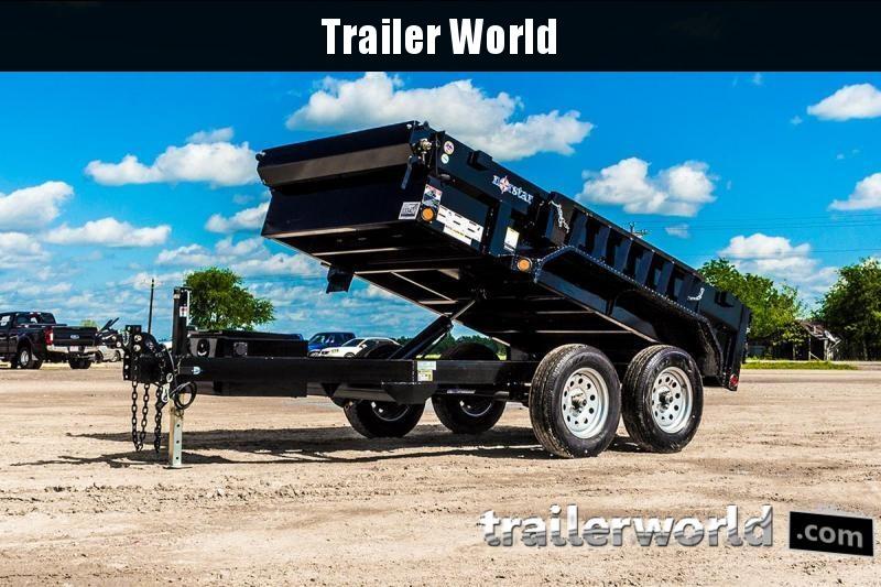 2020 Norstar DXB6010 10' Dump Trailer 7k GVWR