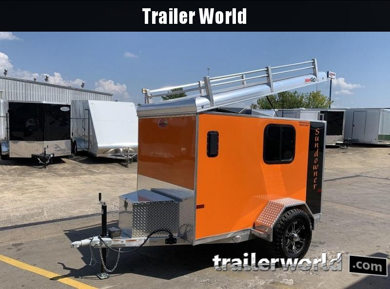 2020 Sundowner 5' x 8' x 5' Custom MINI GO Enclosed Aluminum Cargo Trailer