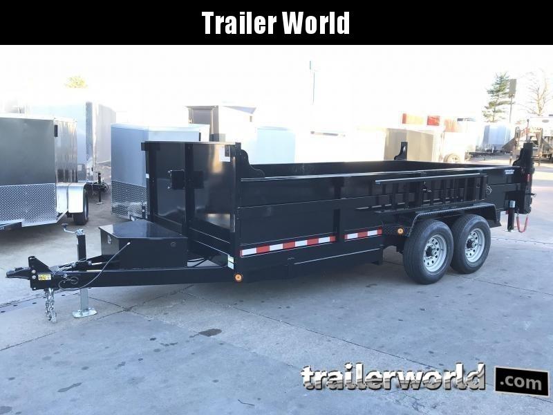 2021 QS 16' Dump Trailer 14K GVWR