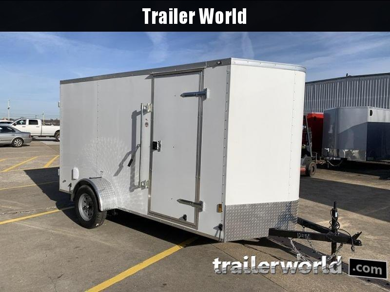 2020 Continental Cargo 6' x 12' x 6.3' Double Door Enclosed Cargo Trailer