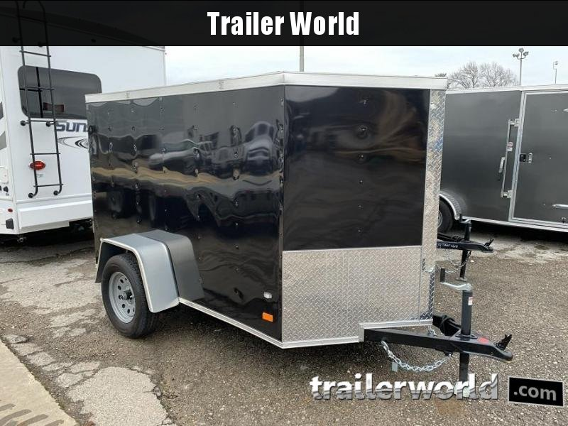 2020 CW 5' x 8' x 5' Vnose Enclosed Cargo Trailer