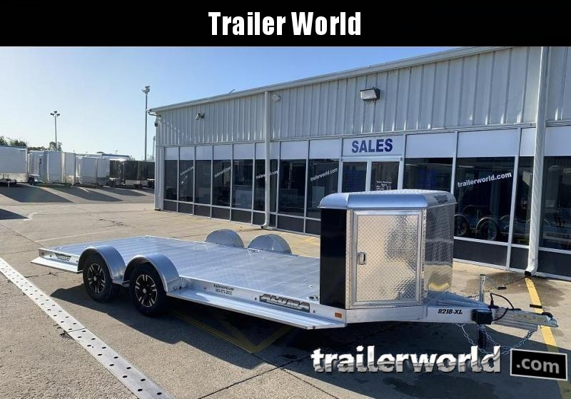 2020 Aluma 8220 XL Executive Aluminum Open Car Trailer