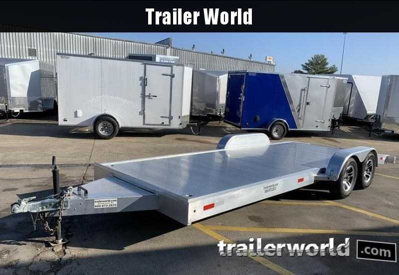 2015 Trailer World 20 Aluminum Open Car Flatbed Trailer