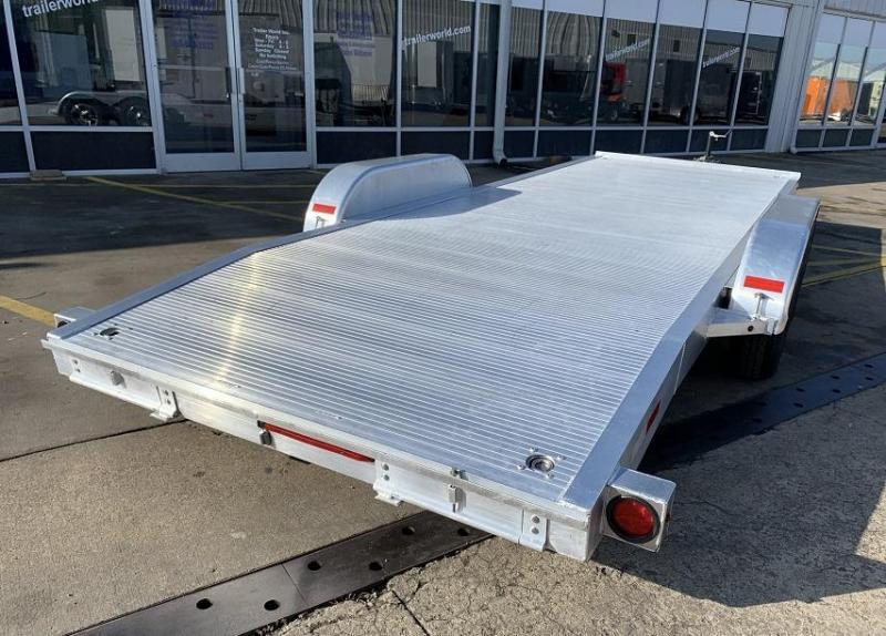 2015 Trailer World 20 Aluminum Open Car Flatbed Trailer
