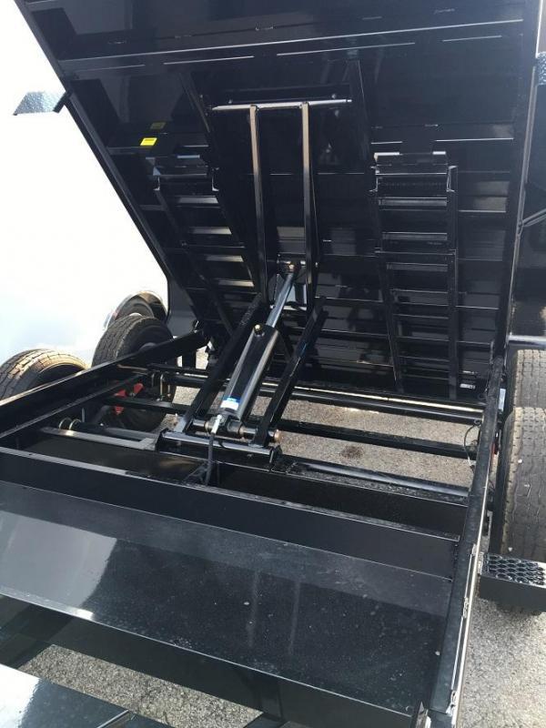 "2020 Sure-Trac 82"" x 14' Scissor Dump Trailer 14k GVWR"